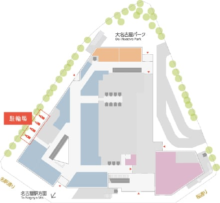 Information on the Dai Nagoya Building bicycle parking lot