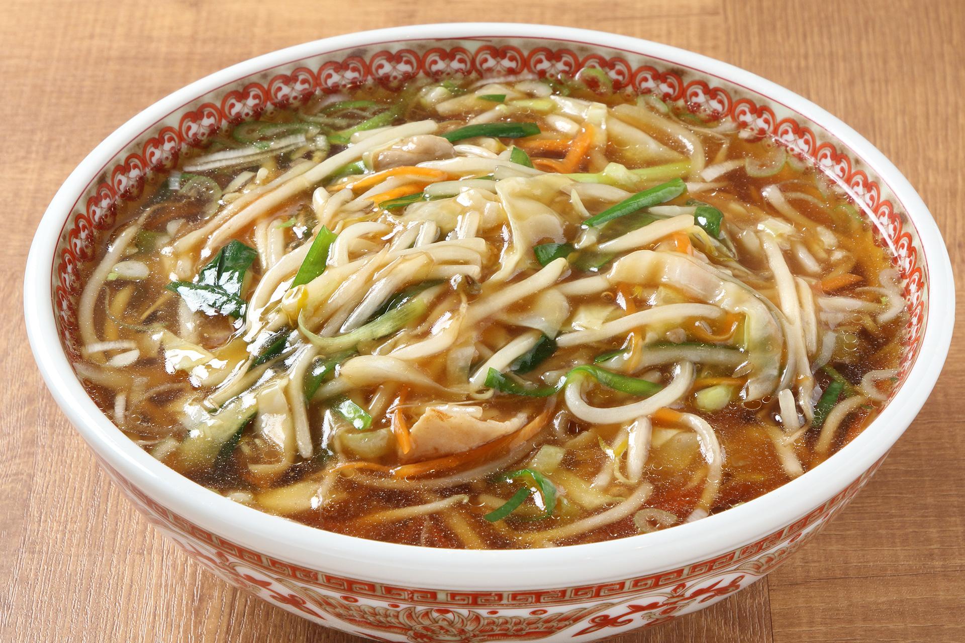 華星のサンマー麺