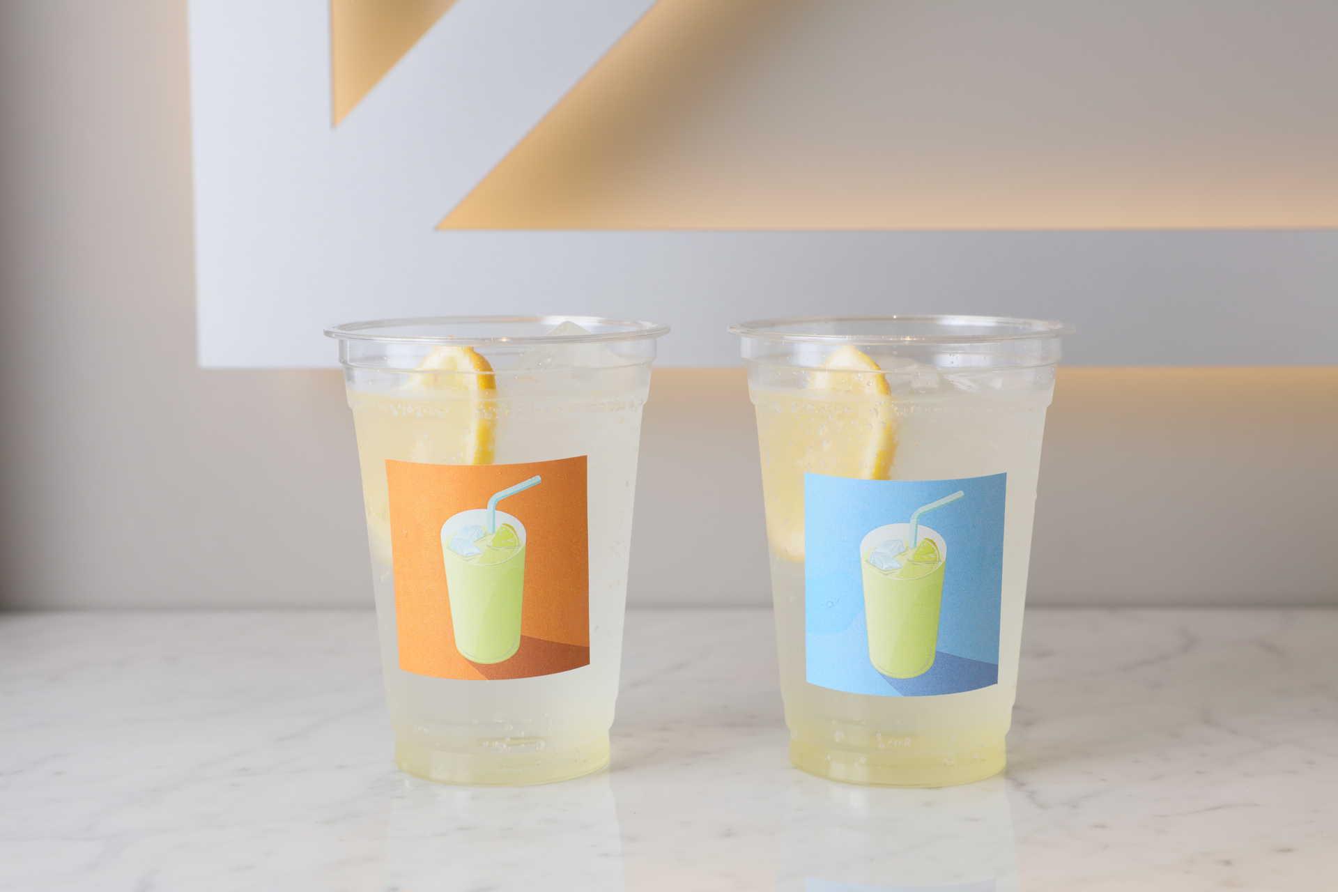 レモンサワーとレモンスカッシュ